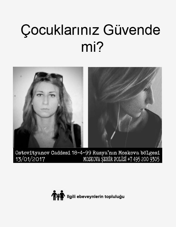 Anastasia Guseva: AramızdaTehlikeli Bir Seks Memuru Var